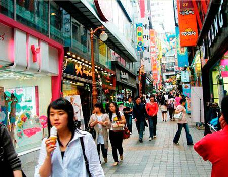 济州岛最繁华的街区是中央洞