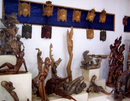 巴厘岛木雕村