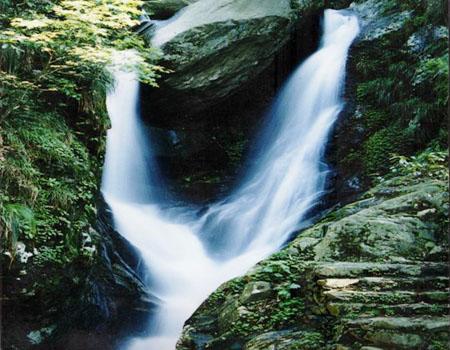 壁纸 风景 旅游 瀑布 山水 桌面 450_350